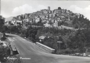 Casperia post card 1970